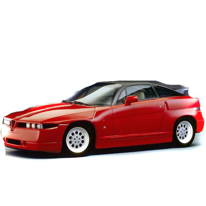 Alfa Romeo SZ (British Import) 1989-1991