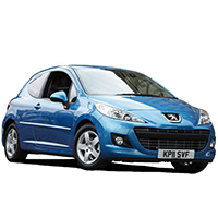 Peugeot 207 Boot Liners (2006 - 2014)