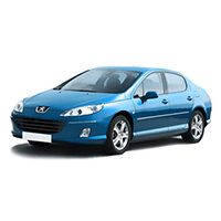 Peugeot 407 Boot Liners (2004 - 2010)