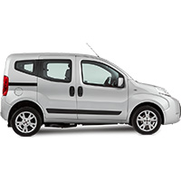 Fiat Qubo Boot Liner (2008 - 2018)