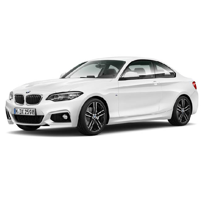 BMW 2 Series Boot Liners (All Models)