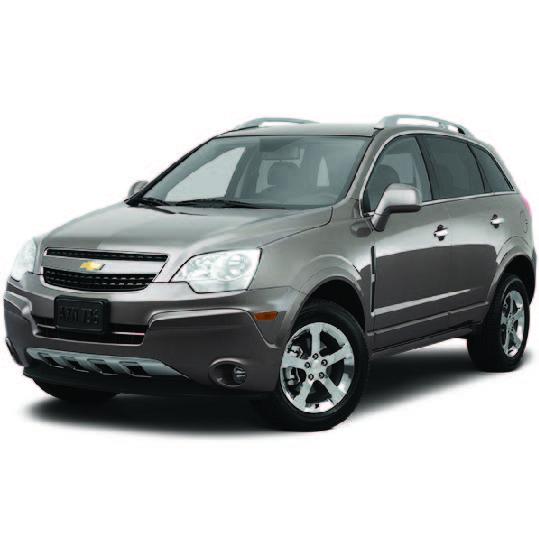 Chevrolet Captiva Car Mats (All Models)